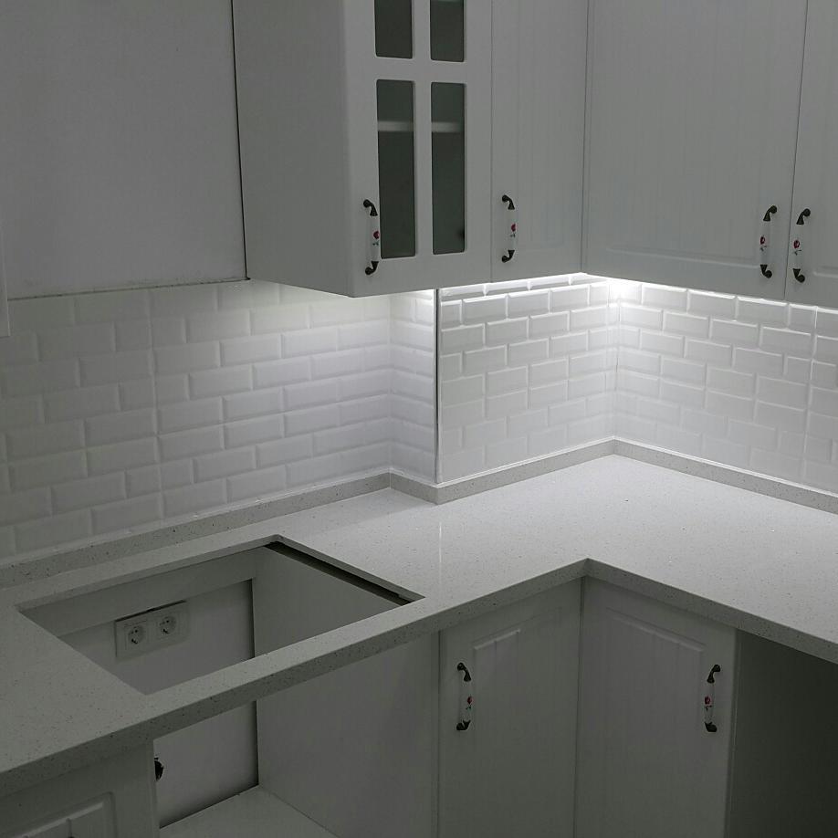 Mutfak Tezgahı belenco kristella white mutfak tezgahı fiyatı | tezgah sepeti